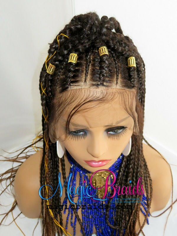cornrows wig braided wig lace