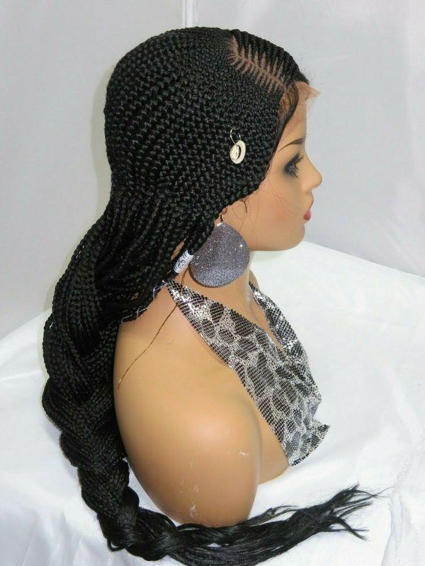 ghana weaving braided wig