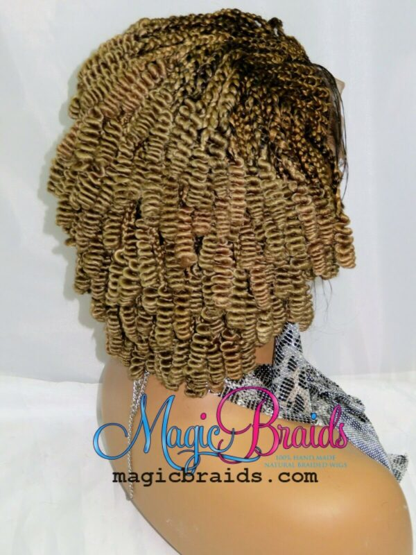blond wig braided wigs