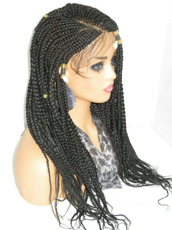 black wig closure