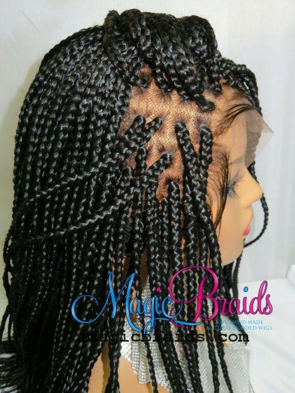 closure black wig braided wigs