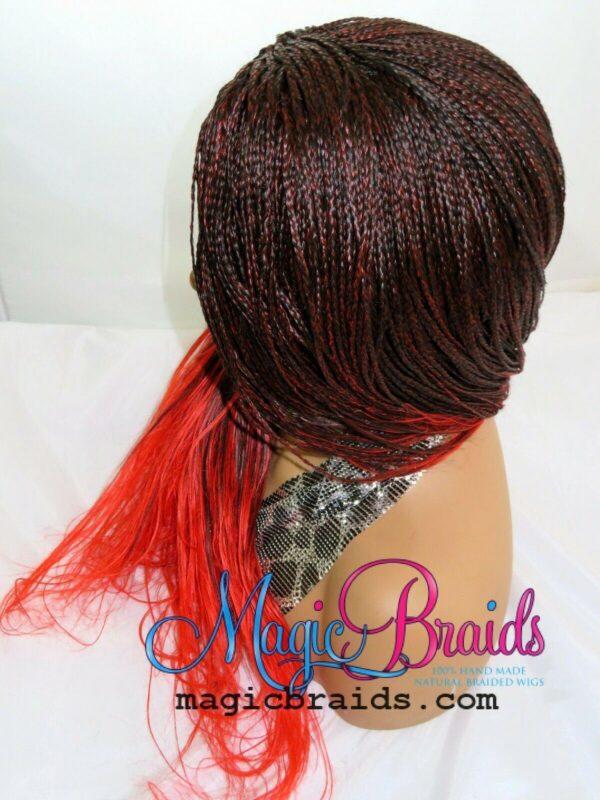 micro million braids braided wig