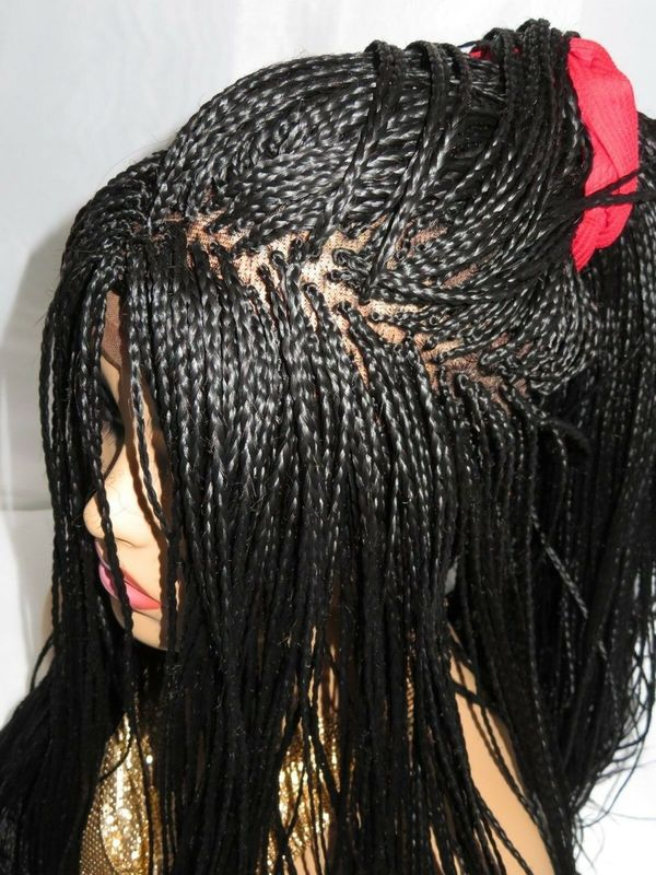 braided wig micro million braids