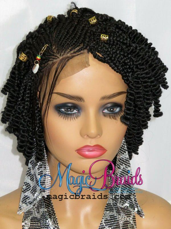 handmade braided wigs black-wig
