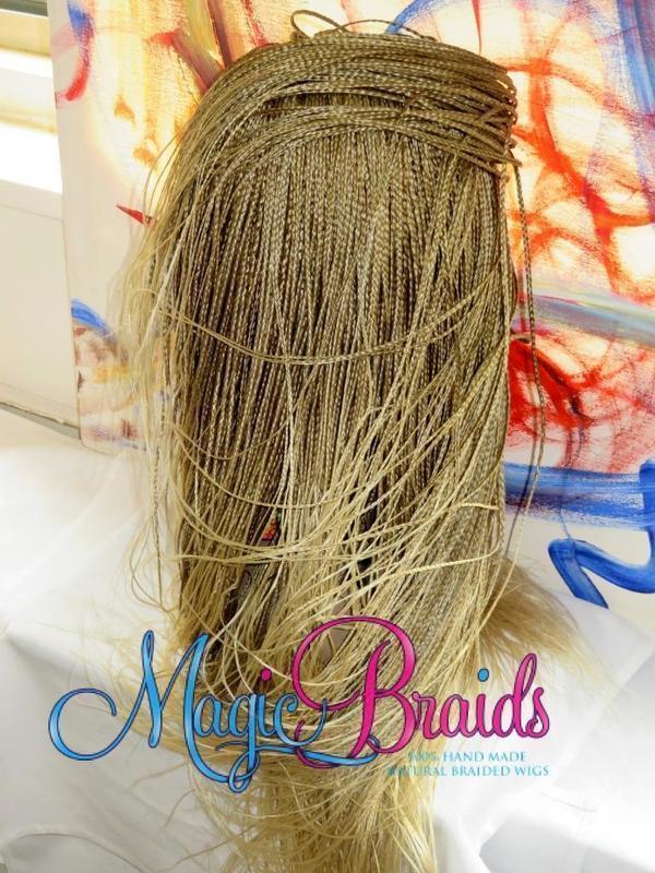 micro braids wig