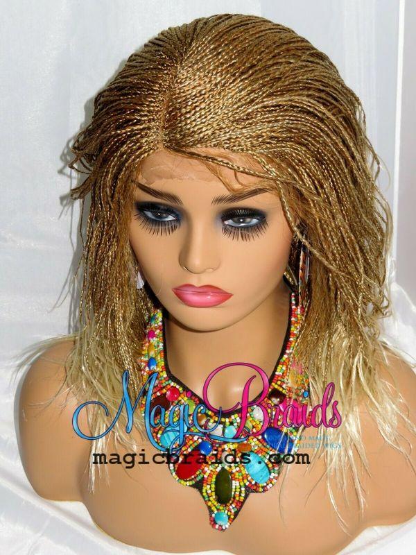 braided wig micro million braids