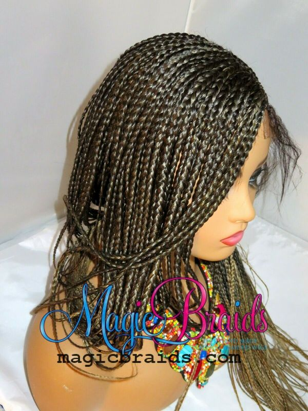 ombre closure braided wig