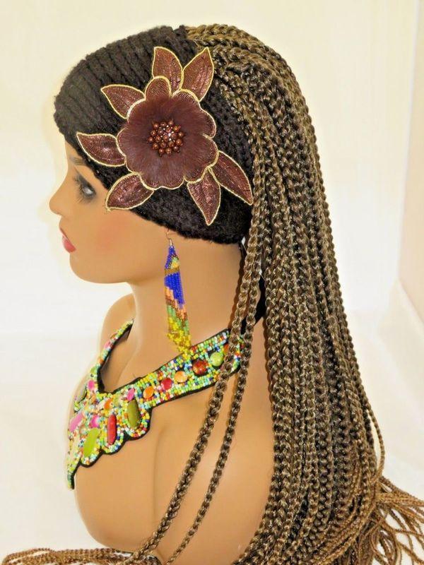 crochet braids braided wig