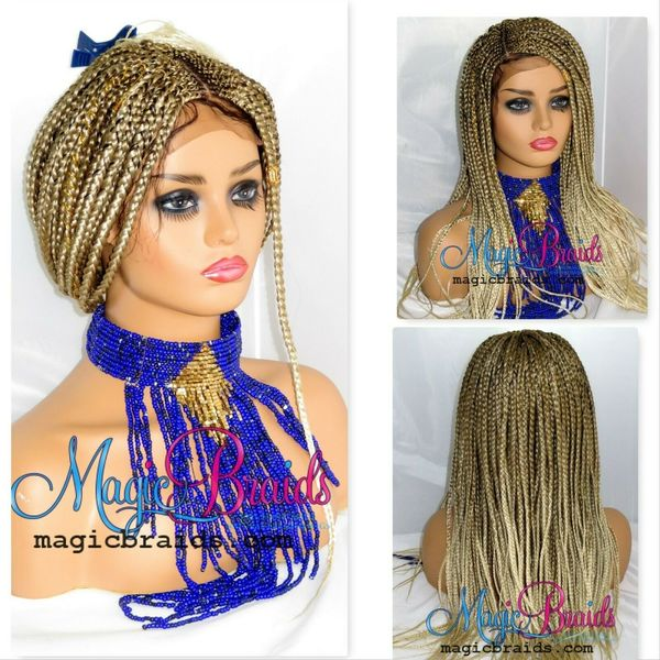 closure braided wig cornrow braided