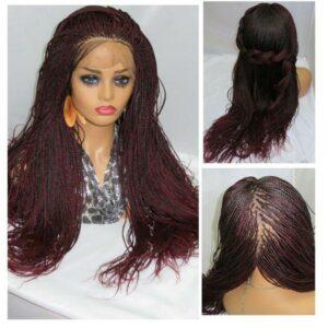 micro braids wigs braided