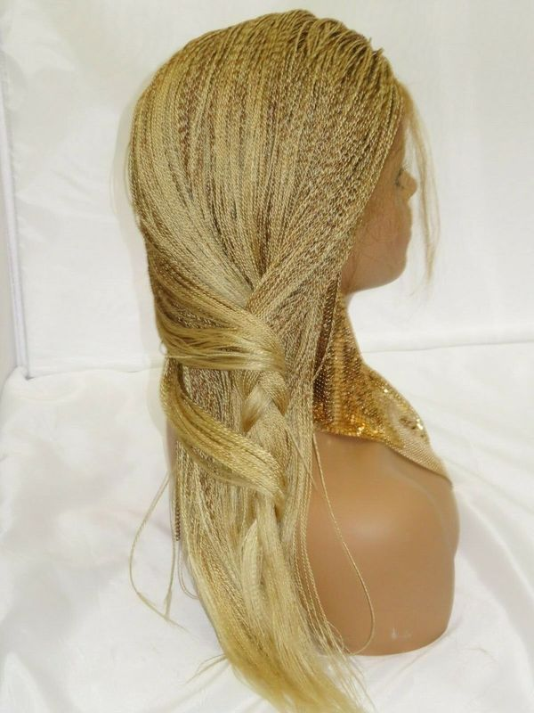 blonde wig micro million twists