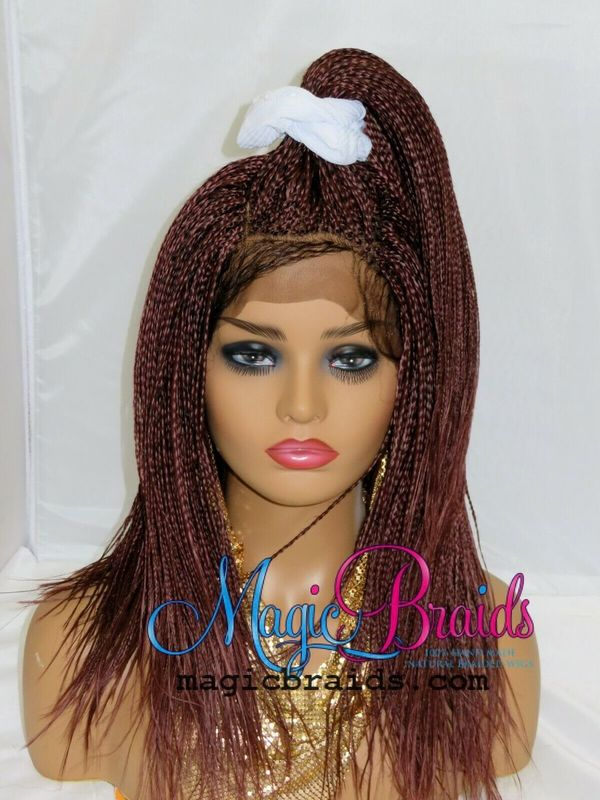braided wig custom made micro