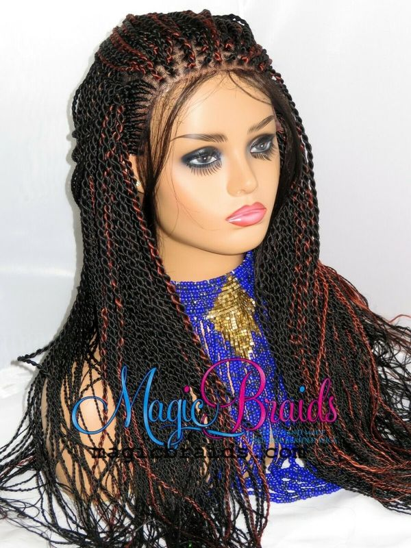 full lace wig braided wig